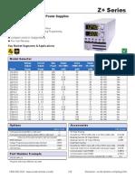 TDK LAMBDA 200-800W Programmable Power Supplies