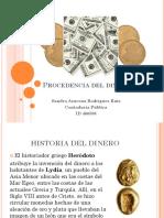 Procedencia Del Dinero