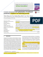 optimization of methanol production