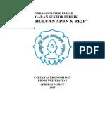 Tugas 1 - Rmk Pendahuluan Apbn & Rpjp