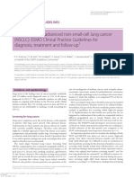 EARLY and Locally Advanced NSCLC