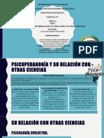 PSICOPEDAGOGÍA Y SU RELACIÓN CON OTRAS CIENCIAS