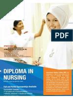 IMC Nursing Course Brochure