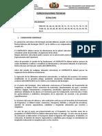 Especificaciones Tecnicas Estructura(1)