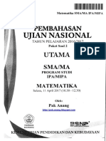 Pembahasan Soal UN Matematika SMA IPA 2017 Paket 2.pdf