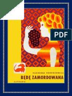 BĘDĘ ZAMORDOWANA_Kazimierz Korkozowicz