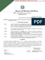 Decreto Autorizzazione in Deroga