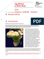 Rediscovering African Geographies Part 1
