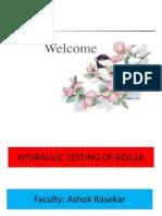 Hydraulic Test
