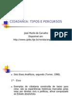 CIDADANIA tipos e percursos - Jos%E9 Murilo de Carvalho II