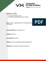 actividad 3 integradora practica forence derecho mercantil