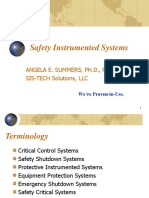 Safety Instrumented Systems Summers