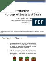 MEC411 Chapter 1 Stress Strain Concept