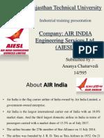 air india training ppt