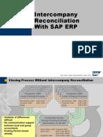 SAP Intercompany Reconciliation Entries