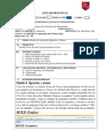 Práctica 8 de Laboratorio Simulacion Operarios y Turnos