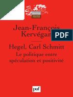 Hegel Carl Schmitt 1992 2005