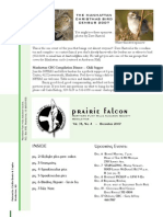 Dec 2007 Prairie Falcon Northern Flint Hills Audubon Society