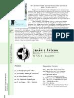 Jan 2008 Prairie Falcon Northern Flint Hills Audubon Society