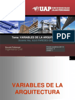 4. Variables Dela Arquitectura[1]