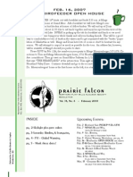 Feb 2008 Prairie Falcon Northern Flint Hills Audubon Society