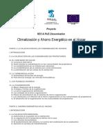 Climatización y Ahorro Energético en El Hogar