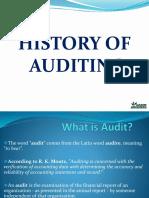 Auditing History