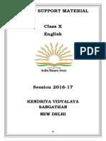 Class-X English Communicative