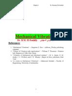 Mechanical Vibration Lecture 1