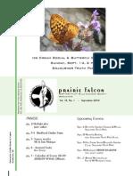 Sept 2008 Prairie Falcon Northern Flint Hills Audubon Society