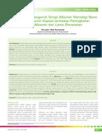 05_258Perbandingan Pengaruh Terapi Albumin Teknologi Nano Dengan Albumin Kapsul