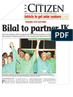 Bilal to Partner JK