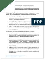 Solucionario Administración Financiera y Presupuestaria II