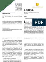 Gracia, Sesion 6