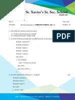 12_computer Science (Set - 1)