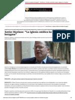 """Xavier Morlans_ """"La Iglesia Católica Ha Olvidado El Kerygma"""" - Vida Nueva - Revista y Portal de Noticias Religiosas y de Iglesia"""