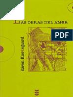 Kierkegaard, s.- Las Obras Del Amor