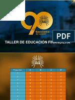 Presentación Educación Financiera