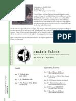 April 2010 Prairie Falcon Northern Flint Hills Audubon Society