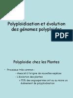 Polyploidisation Et Evolution Des Genomes Polyploidessept09-1