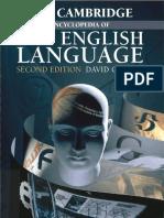The Cambridge Encyclopedia of the English Language 2nd Edition