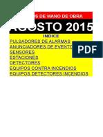 Precios de mano de Obra Electricidad.DEMO AGOSTO-2015.xls