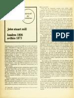 (Análisis Sociológico) John Stuart Mill