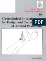 Geotechnical Investigations for Design and Construction of Airfield Pavements