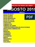 Precios mano de Obra. DEMO AGOSTO-2015  PLOMERIA.xls