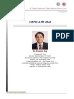 CV - Pramod Jog