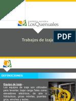 Trabajos de Izaje Iscaycruz 2014