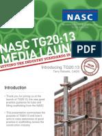 TG 20 Presentation 2014