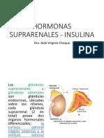 Hormonas Suprarrenales  e Insulina