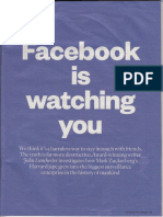 FB is Watching You 051117